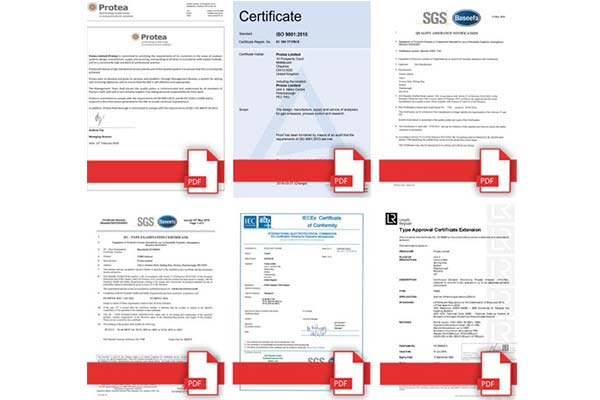 Accreditations Page Updated With All Certificates