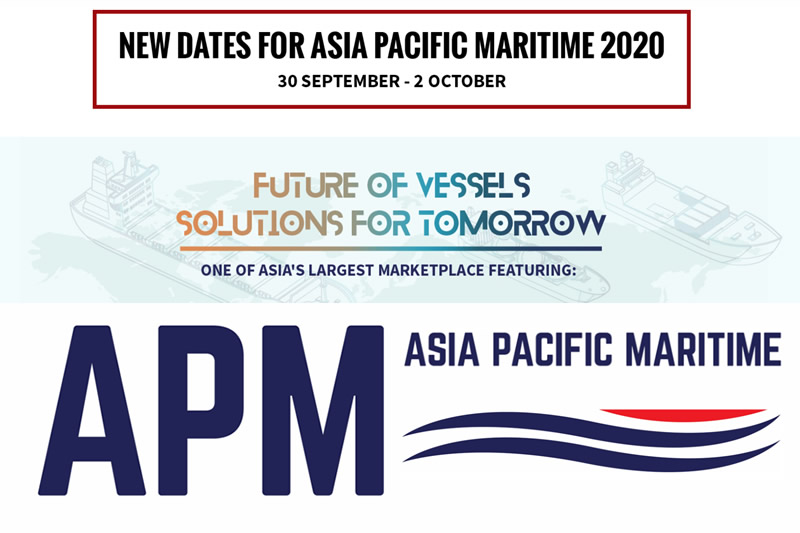 February 2020 - Protea Exhibiting at The Asia Pacific Maritime 30 Sep - 2 Oct 2020