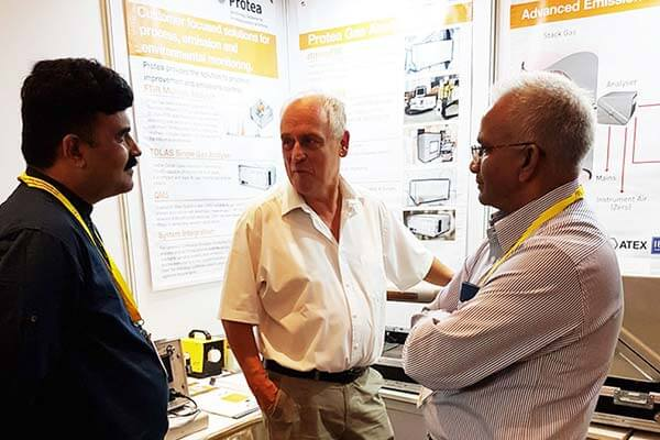 October 2019 - Protea Exhibiting at CEM India 2019 Conference & Exhibition on Emissions Monitoring