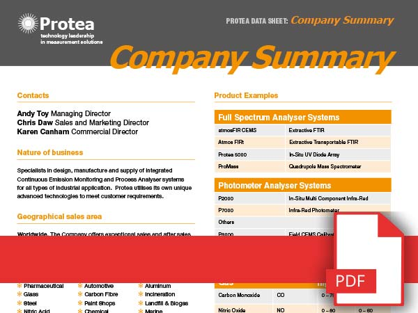 Download Our Latest Company Overview PDF