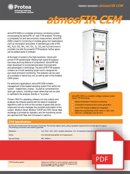 Continuous Emissions Monitoring Brochure
