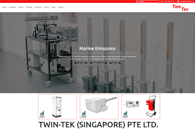 July 2020 - New Website Launched For Twin Tek Singapore