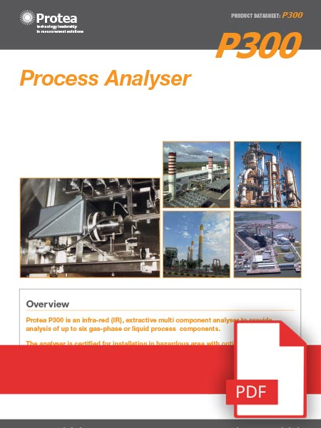 P300 Extractive Gas Analyser Data Sheet